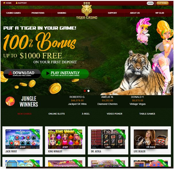 888Tiger Bonuses for Filipinos