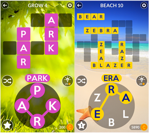 Wordscapes- Android game app