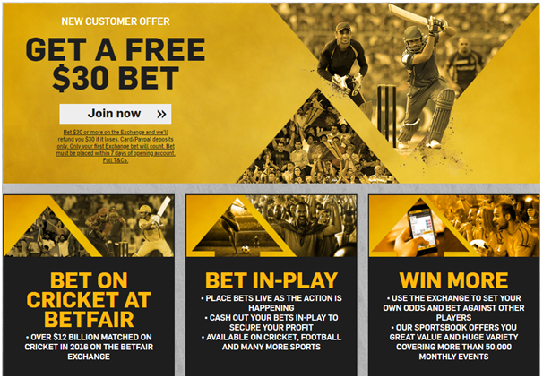 Betfair- Sports betting site for Filipinos