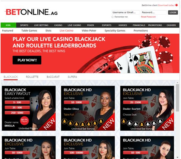 Betonline.ag Live