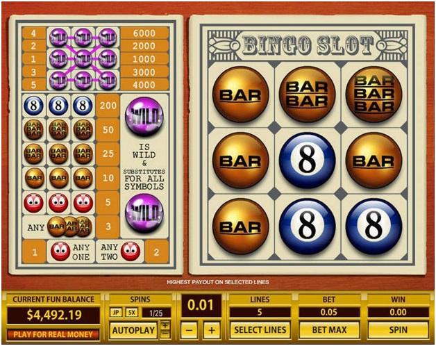 Bingo Slots Games
