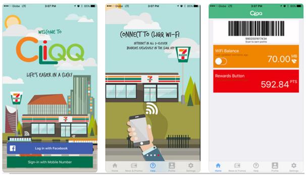 Cliqq app