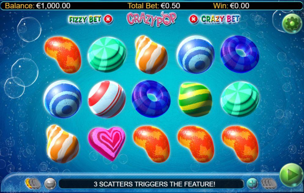 Crazy pop slots