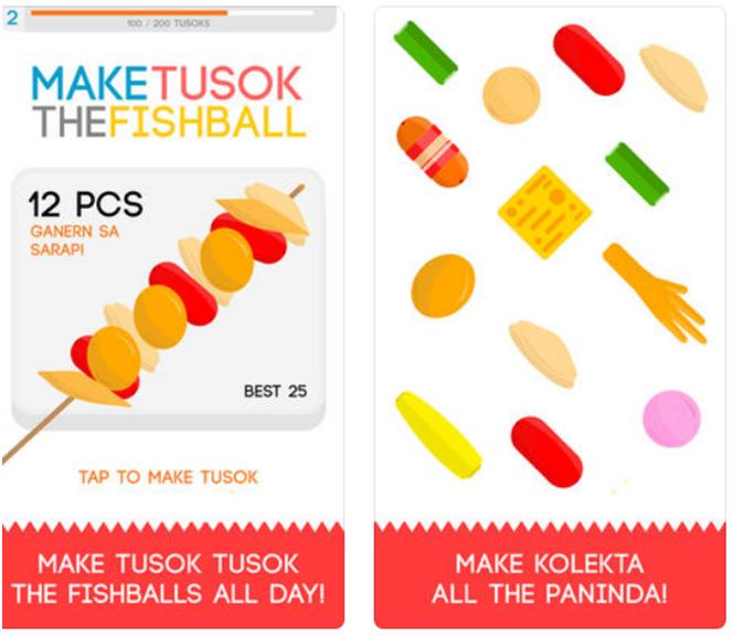Fishball game app