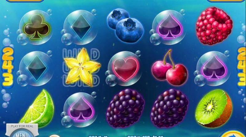Fruit splash slot