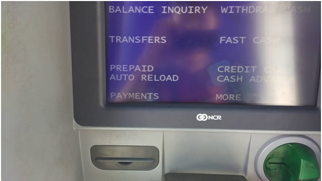 Withdrawing with Gcash