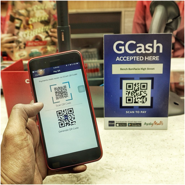 Cashless Services Offered by GCash
