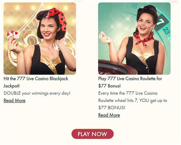 Grab Live Casino Bonus