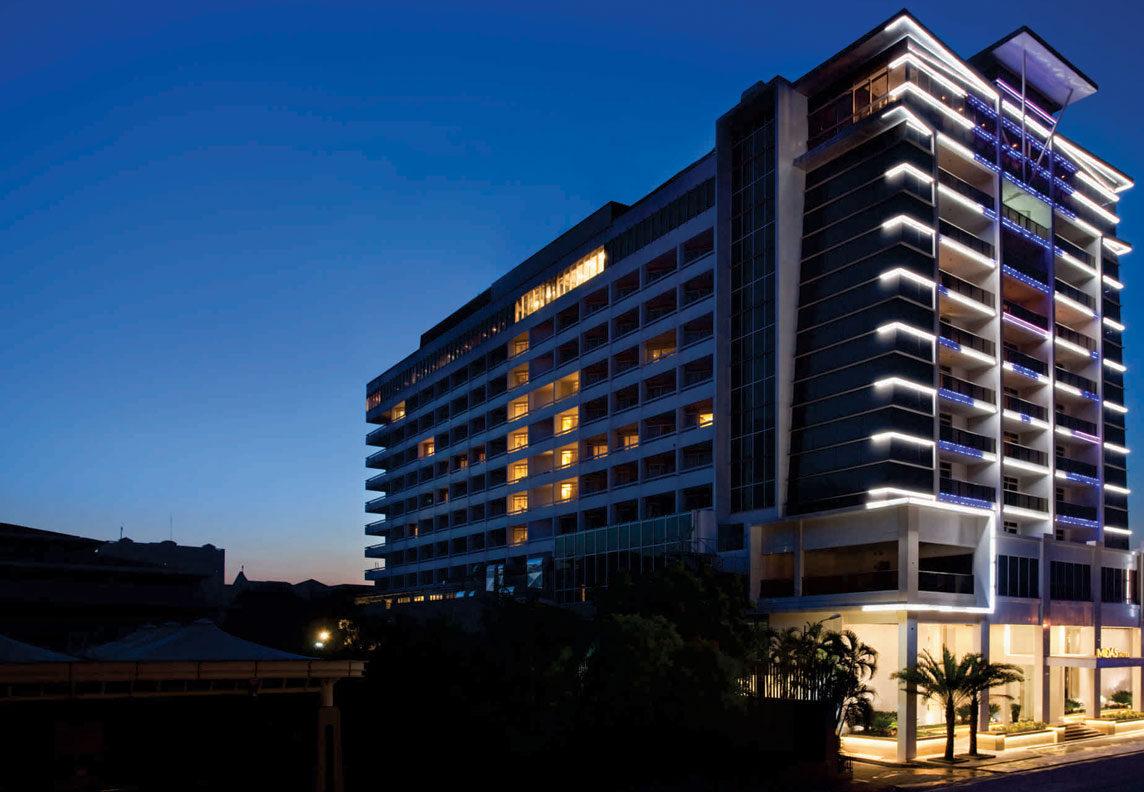 Midas Hotel and Casino Exterior