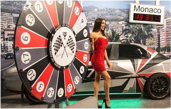 Money wheel game- Wheel of Fortune- Live