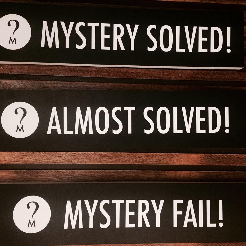 Mystery Manila Results