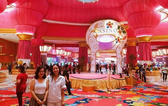 Slot games at Okada Manila
