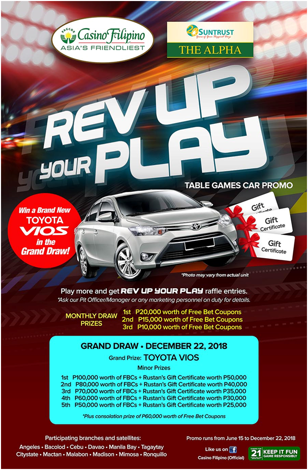 Rev up your play at casino Filipino