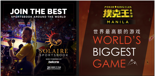 Solaire Casino -Games to play