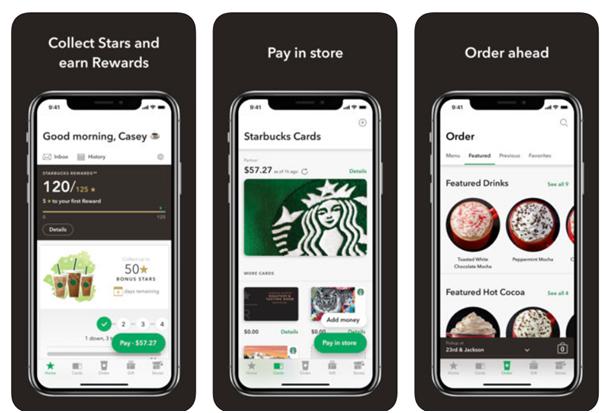 Starbuck app