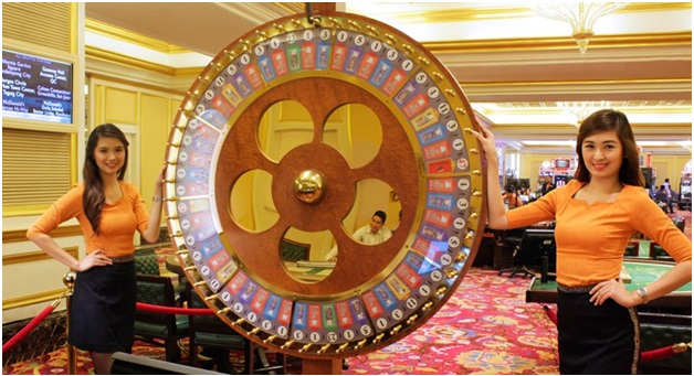 The Money Wheel Games to play at land casino