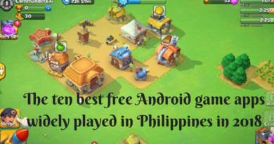 The ten best free Android game apps widely played in Philippines in 2018