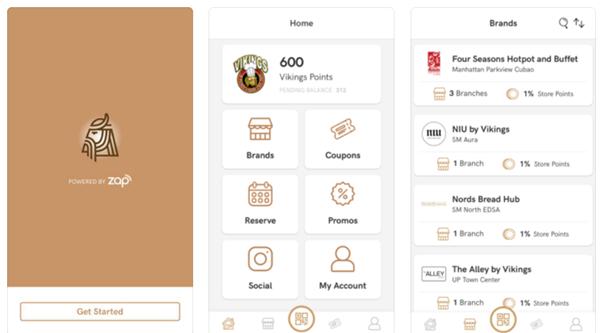 Viking Rewards app