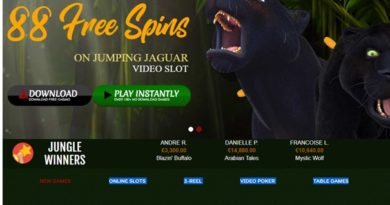 What is the special Slot Bonus at 888 Tiger casino