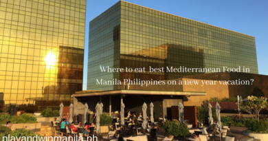 Where to eat best Mediterranean Food in Manila Philippines on a new year vacation_