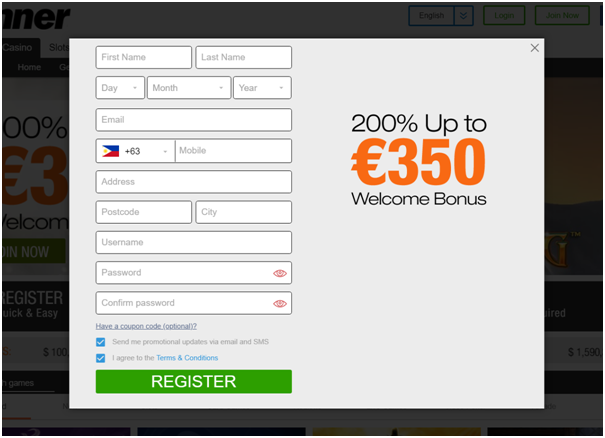 Winner casino- Register online - Play and Win Manila