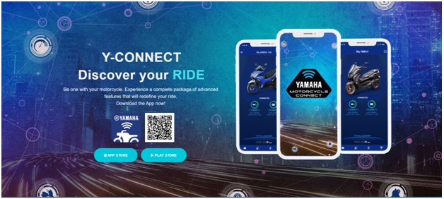 Y Connect App for Your Motorcycle