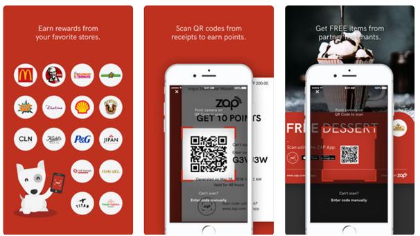 Zap app